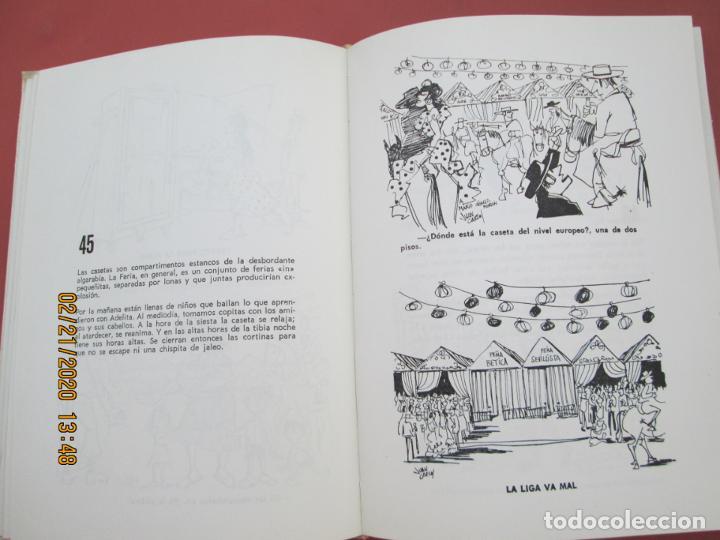 Libros: SEVILLA ES IN DIFERENTE - SELECCIÓN DE 205 CHISTES DE JUAN CARLOS - SEVILLA 1970. - Foto 4 - 194974513