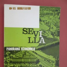 Libros: SEVILLA PANORAMA ECONÓMICO - BANCO DE BILBAO - 1971. . Lote 194975121