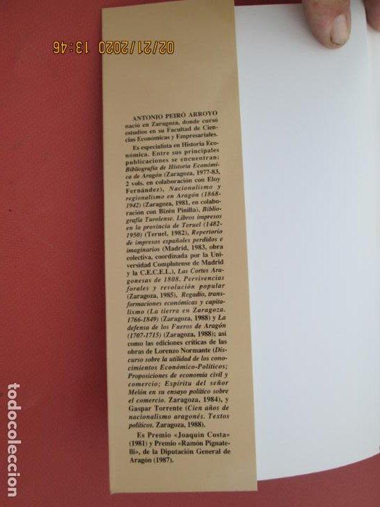 Libros: EL SEÑORIO DE ZARAGOZA 1199-1837 - ANTONIO PEIRÓ ARROYO - ZARAGOZA 1993. - Foto 3 - 194976205