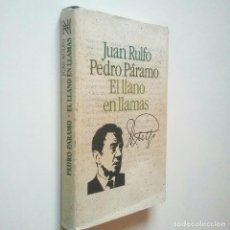 Libros: PEDRO PÁRAMO Y EL LLANO EN LLAMAS - JUAN RULFO (INTRODUCCIÓN DE JUAN CUETO. SEMBLANZA BIOGRÁFICA DE . Lote 194981216