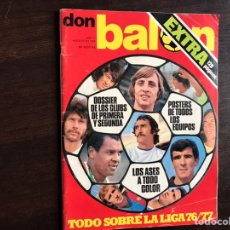Libros: TODO SOBRE LA LIGA 76/77. DON BALÓN EXTRA.. Lote 194981395