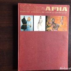 Libros: APHA. MÉTODO PRÁCTICO DE CORTE Y CONFECCIÓN. Lote 194981483