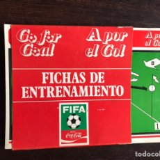 Libros: A POR EL GOL. FICHAS DE ENTRENAMIENTO. COCA-COLA 78. Lote 194981990