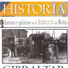 Libros: HISTORIA 16, 318. GIBRALTAR AL EMPEZAR LA GUERRA CIVIL. ASTURES Y GALAICOS EN EL EJÉRCITO DE ROMA - . Lote 194989263