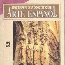 Libros: CUADERNOS DE ARTE ESPAÑOL, 23. EL MAESTRO MATEO - YZQUIERDO, RAMÓN. Lote 194989283