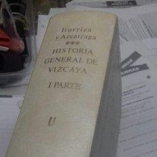 Libros: ANTIGUOS RECUERDOS DE VIZCAYA. TOMO V. Lote 195028831