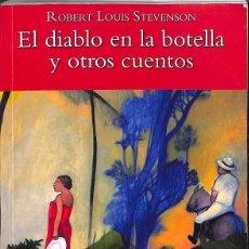Libros: BIBLIOTECA TEIDE 041 - EL DIABLO EN LA BOTELLA Y OTROS CUENTOS. Lote 195045041