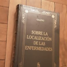 Libros: SOBRE LA LOCALIZACIÓN DE LAS ENFERMEDADES - GALENO - GREDOS - NUEVO!. Lote 195046873