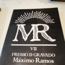 Libros: G-KUKI84 LIBRO MR VII PREMIO D GRAVADO MAXIMO RAMOS FERROL 1990. Lote 195055900
