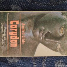 Libros: ANDRÉ GIDE - CORYDON - LIBRO. Lote 195079530