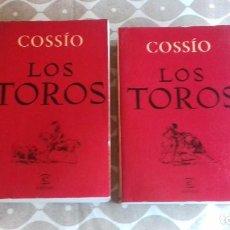 Libros: LIBROS LOS TOROS. COSSIO. DOS TOMOS. Lote 195081175