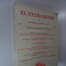 Libros: EL EXTRAMUNDI LOS PAPELES DE IRIA FLAVIA AÑO IV NÚM. XIV REVISTA FUNDADA POR CAMILO JOSÉ CELA. Lote 195117632