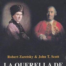 Libros: LA QUERELLA DE LOS FILÓSOFOS : ROUSSEAU, HUME Y LOS LÍMITES DEL ENTENDIMIENTO HUMANO - ZARETSKY Y. Lote 195118861