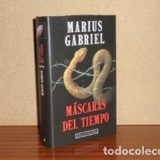 Libros: MÁSCARAS DEL TIEMPO - GABRIEL, MARIUS. Lote 195143170