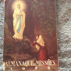 Libros: ALMANAQUE DE LAS MISSIONES, 1958. Lote 195146778