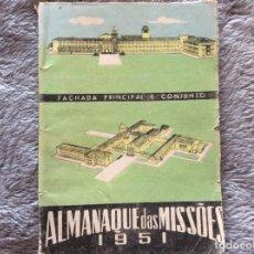 Libros: ALMANAQUE DE LAS MISSIONES, 1951. Lote 195148066