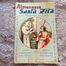 Libros: ALMANAQUE DE SANTA ZITA, 1964. MUY ESCASO.. Lote 195149860