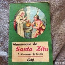 Libros: ALMANAQUE DE SANTA ZITA, 1969. MUY ESCASO.. Lote 195150485