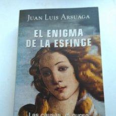 Libros: EL ENIGMA DE LA ESFINGE/JUAN LUIS ARSUAGA. Lote 195153173