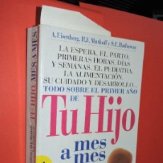 Libros: TU HIJO MES A MES. EISENBERG, A.; MURKOFF, H.E.; HATHAWAY, S.E. ED. PARRAMÓN. BARCELONA 2000. Lote 195159151