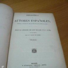 Libros: POETAS LÍRICOS DE LOS SIGLOS XVI Y XVII. COLECCIÓN ORDENADA POR... TOMO SEGUNDO. - CASTRO, DON ADOLF. Lote 195160728