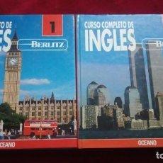 Libros: CURSO COMPLETO DE INGLÉS 1 Y 2. EDITORIAL OCÉANO. Lote 195196756