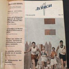 Libros: REVISTA ANTORCHA 1951-EDICCION DELEGACIÓN NACIONAL DEPORTES-10 REVISTAS ENCUADERNADAS DEL 20 AL 29. Lote 195228536