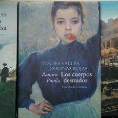 Libros: TRILOGÍA COMPLETA VERDES VALLES, COLINAS ROJAS. RAMIRO PINILLA, CÍRCULO DE LECTORES. Lote 195229727