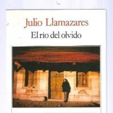 Libros: EL RIO DEL OLVIDO - LLAMAZARES,JULIO. Lote 195244950