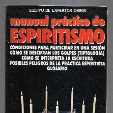 Libros: MANUAL PRACTICO DE ESPIRITISMO. Lote 195249037
