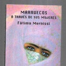 Libros: MARRUECOS A TRAVES DE SUS MUJERES. Lote 195249038