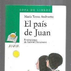 Libros: PAIS DE JUAN - EL. Lote 195249053