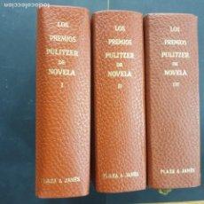 Libros: LOS PREMIOS PULITZER DE NOVELA I II III BUEN ESTADO. Lote 195261515