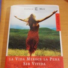 Libros: LA VIDA MERECE LA PENA SER VIVIDA (ENRIQUE MIRET MAGDALENA). Lote 195341435