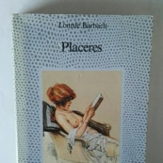 Libros: PLACERES LONNIE BARBACH. Lote 195342626