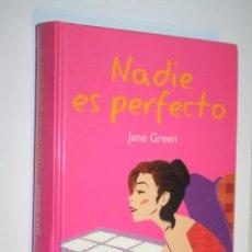 Libros: NADIE ES PERFECTO (JANE GREEN); LIBRO TAPAS CARTONÉ *** EDITORIAL RBA (2004). Lote 195375360