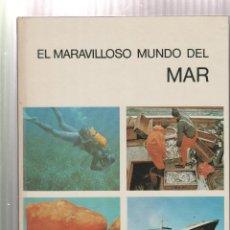 Libros: EL MARAVILLOSO MUNDO DEL MAR- ARNOLD L. HASKELL-EDICION 1972. Lote 195386688