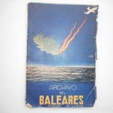 Libros: E. FERRARI BILLOCH ARCHIVO DEL BALEARES Y98979T. Lote 195406007