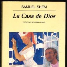 Libros: LA CASA DE DIOS - SAMUEL SHEM. Lote 195434040