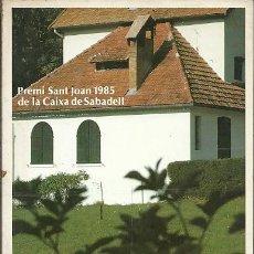 Libros: LA TORRE BERNADOT ANTONI TURULL. Lote 195440317