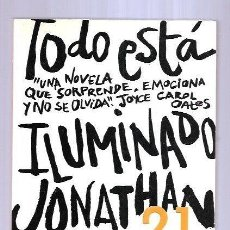 Libros: TODO ESTA ILUMINADO. Lote 195443097