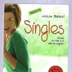 Libros: SINGLES. Lote 195443103