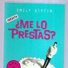 Libros: ¿ME LO PRESTAS?. Lote 195443117