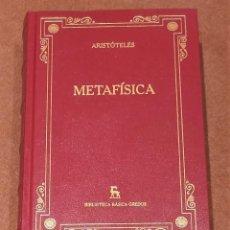 Libros: METAFÍSICA. Lote 195450665