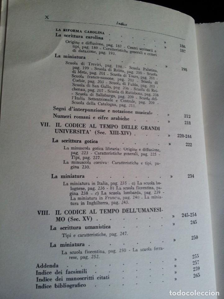 Libros: GIULIO BATTELLI - LEZIONI DI PALEOGRAFIA - TERRA EDIZIONE, CITTA DEL VATICANO 1949 - Foto 7 - 195451090