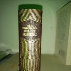 Libros: TOTAL DE GREGUERIAS. RAMON GÓMEZ DE LA SERNA. 1962. Lote 195476570
