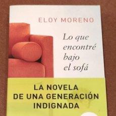 Libros: LO QUE ENCONTRÉ BAJO EL SOFÁ. Lote 195479732