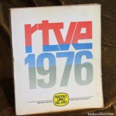 Libros: RTVE,1976,NUESTRO LIBRO DEL AÑO, TAPA FLEXIBLE, 280 PÁGINAS. Lote 195503287