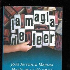 Libros: MAGIA DE LEER - LA. Lote 195524878