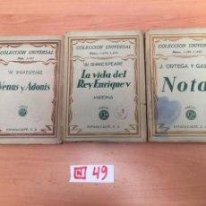 Libros: COLECCION UNIVERSAL. Lote 196018055